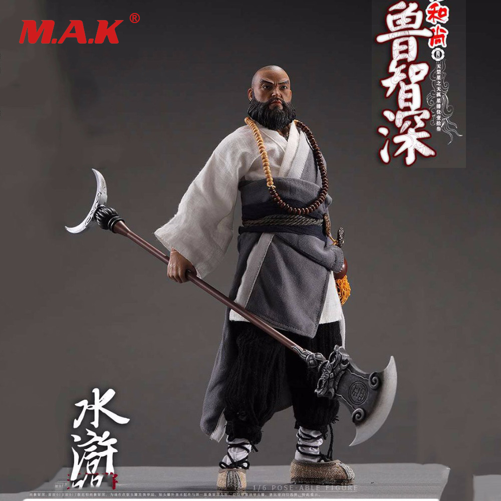 Water Margin Series LU ZHI SHEN 1/6 Scale Collectible Chinese Ancient Figure full set for Collection