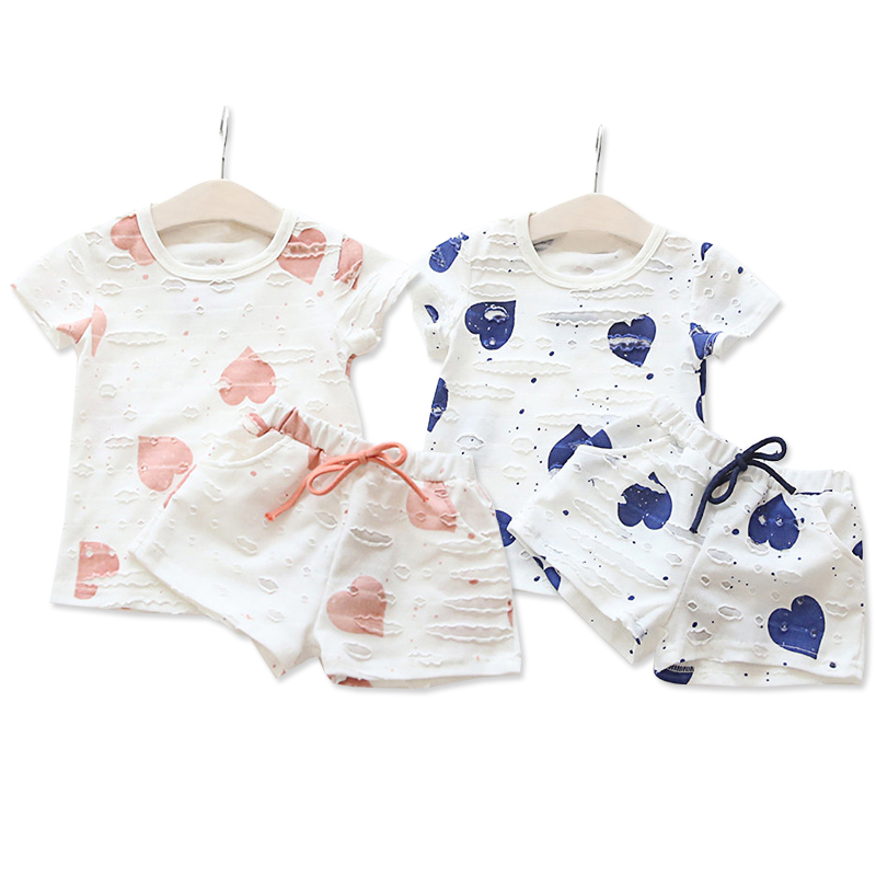 KEAIYOUHUO Children suit 2pcs Summer Baby Girls Clothes