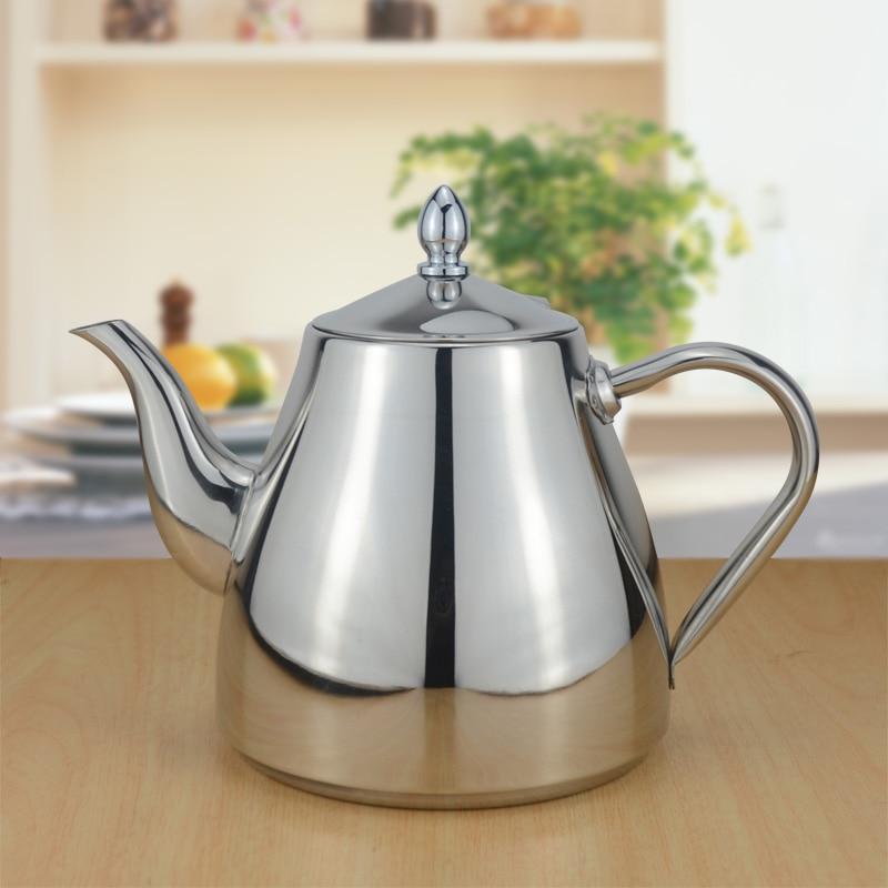 Sanqia 1500ml nieuwe stijl roestvrijstalen waterfles water ketel drinkware water pot Geschikt drip koffiekan keuken items