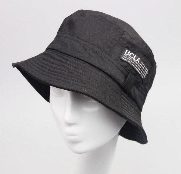 Модные женские туфли с широкими полями человек Фишер пляжные шляпы Панамы для женщин Женская мода Дорожная Кепка шляпа от солнца Кепки - Цвет: black