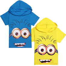 kids t shirt minions pullover short sleeve t shirts for boys girls tees t shirt children