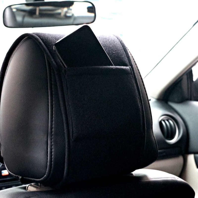 Untuk Nissan X-TRAIL Xtrail Ini dengan T30 T31 T32 2013-2019 Mobil Panas Headrest Cover Aksesoris Mobil Styling 1 Pcs