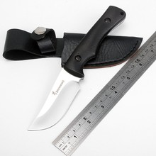 Browning Tactical straight knife Fixed Hunting Knife 7Cr13 Blade Camping Multi Tools Outdoor Knife Pocket Survival Knife