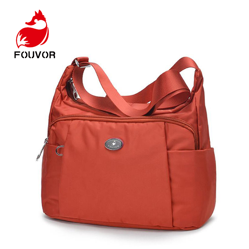 Fouvor Luxury Women Messenger Bag Oxford Zipper Shoulder Bag Ladies Bolsa Feminina Waterproof Travel Bag Women's Crossbody Bag