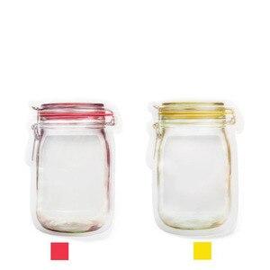 Image 5 - 3or4 Stuks/Set Composiet Materiaal Voedsel Behoud Opbergtas Biscuit Snack Voedingssupplement Voedsel Rits Seal Kleine Ware