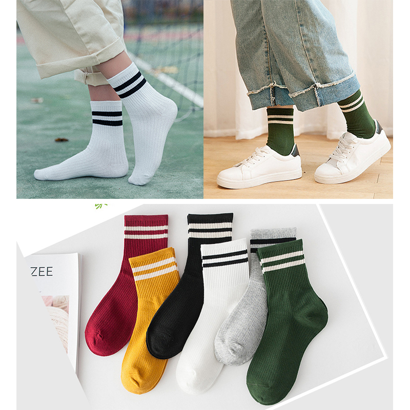 1 Pair Harajuku   Socks   Cotton Women Short   Socks   Comfortable Summer Thin Ankle   Sock   Girls Fashion Casual Striped   Socks