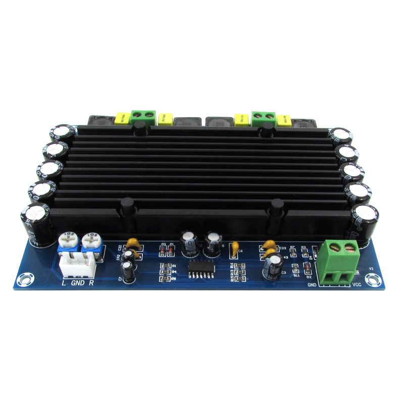 Image 4 - XH M546 Preset pre stage TPA3116D2 dual channel 150W x 2 built in sound ultra high power digital amplifier board D2 002amplifier boarddigital amplifier boarddigital amplifier -