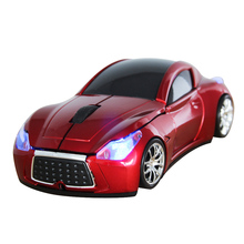 Computer Mouse 2.4GHz Infiniti Sports Car 2.4GHz Wireless Mouse 1600DPI Optical Gaming Mouse Mice Car Mause for Computer PC