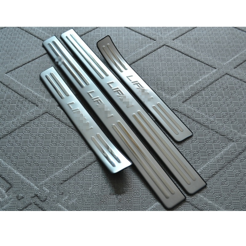 For Lifan Solano 620 2009 2012 Car Styling Stainless Steel Outside