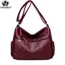Fashion Plaid Crossbody Bag Luxury Designer Leather Shoulder Handbag Famous Brand Summer Messenger Bags for Women Sac A Main цена 2017