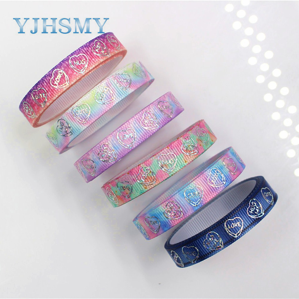 10mm LOVE Grosgrain Ribbons