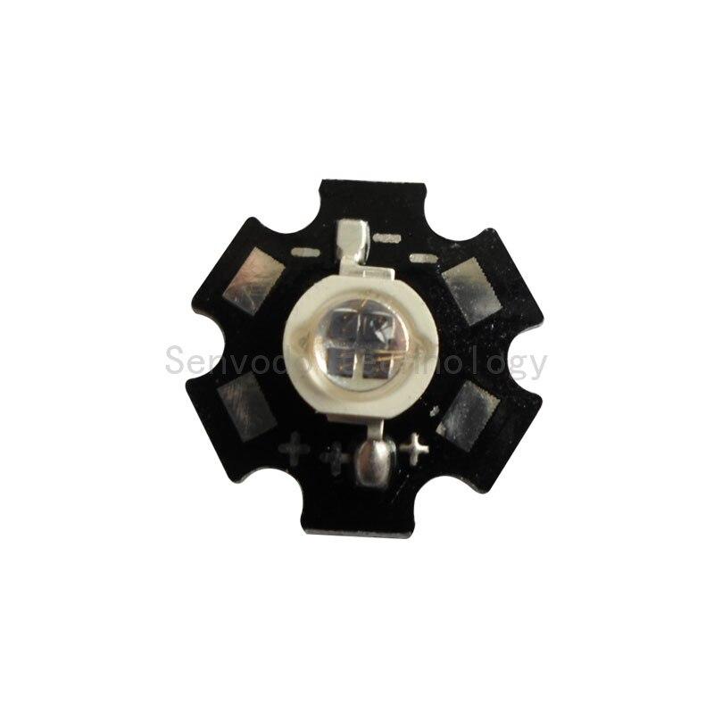 100X высокое качество 5 Вт 940nm инфракрасный ИК светодиодный Диод используется Bridgelux 4 чип инкапсуляции с теплоотвод