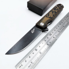 Hunting Folding Knife D2 Blade G10 + Steel Handle Army Rescue Outdoor Camping Survival Pocket Knives High Quality EDC Tool цены онлайн