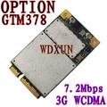 For Option GTM378 PCI-E 3G 7.2Mbps GSM WWAN GTM 378 GPS MODEM
