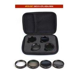 4Pcs Filters Set ND4+ND8+MCUV+CPL Multi-layer Coating Lens Filter Kit for for DJI Phantom 4 PRO/ PRO+/Advanced+ Free Shipping