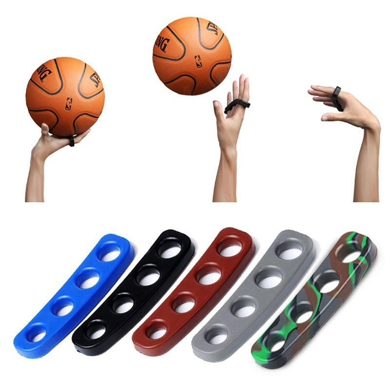 1 Pcs Silicone Shooting Trainer Fingers Shooting Orthotics Accessories Basketball Hand Post Correction Training Aid Equipment