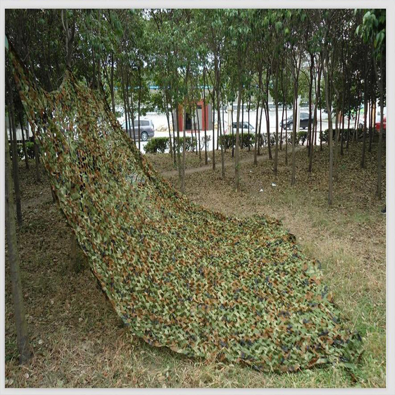 Large Size Jungle Camouflage Net Beach Tent Hunting Camping Military Camouflage Netting Sun Shelter Outdoor Car Shade Cover wholesale 6m 8m car covers green military camouflage net sun shelter camouflage net tent car covers camouflage netting tent