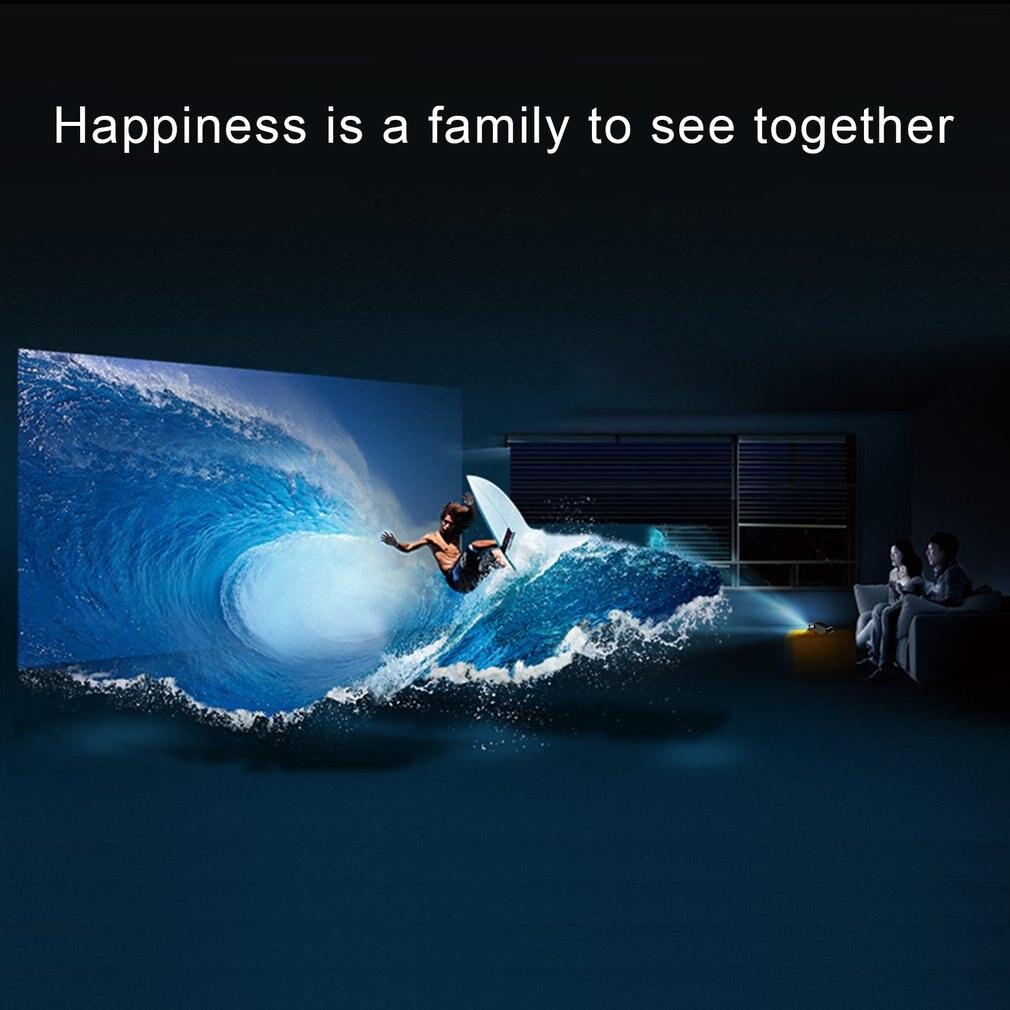 BL80 Android 6 Wifi Smart Portable Mini LED 3D TV projecteur Support Full HD 1080p 4K vidéo Home cinéma projecteur Proyector - 3