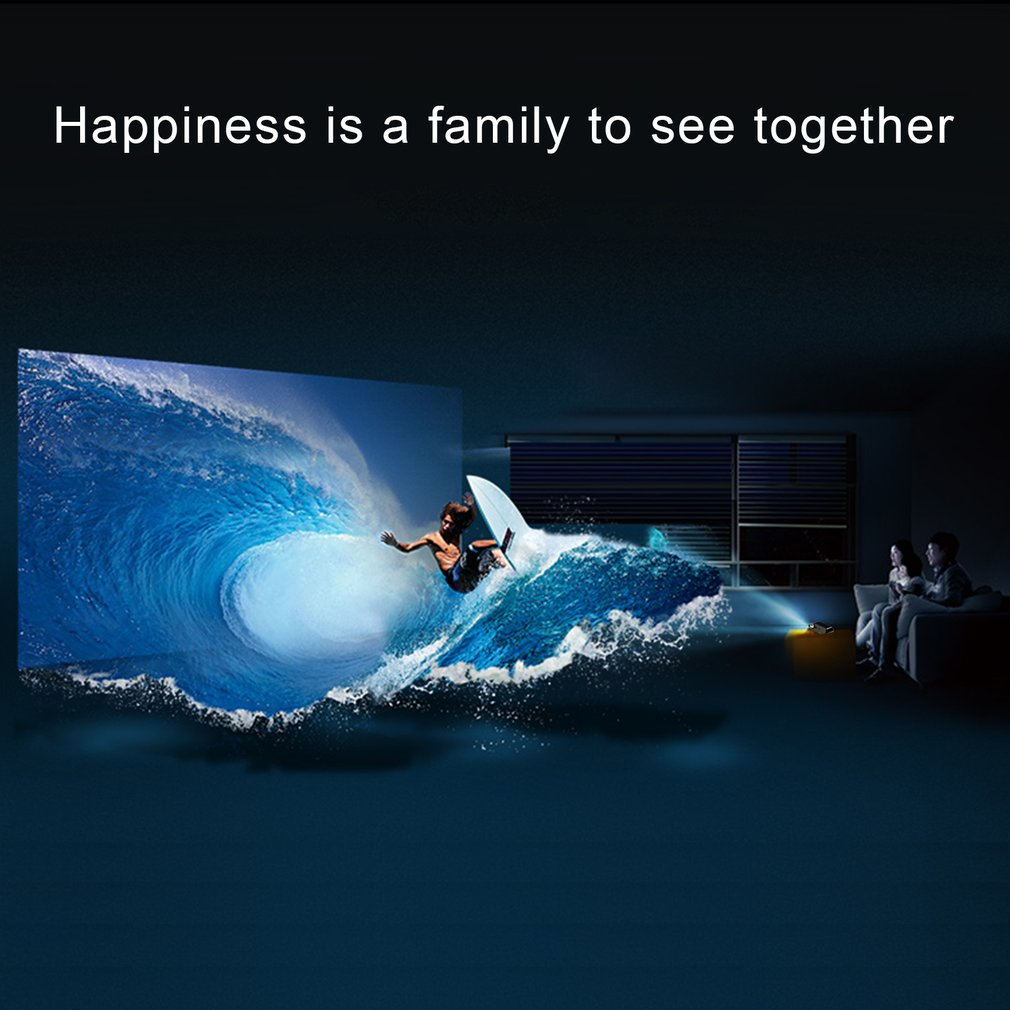 BL80 Android 6 Wifi Smart Tragbare Mini LED 3D TV Projektor Unterstützung Full HD 1080p 4K Video Home Theater beamer Proyector