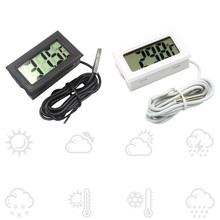 Mini Digital LCD Thermometer Fridge Temperature Sensor Freezer Thermometer for Kit Chen Bar Use(China)