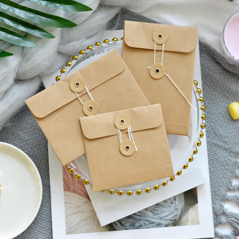 Kraft Paper Bag In Planner Hand Book Decoration Bag Loose Leaf Page Decoration Travel Decoration Envelope Tn Document Organizer
