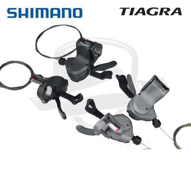 Shimano Tiagra SL-4700 SL-4600 SL-R460 Flatbar Leviers 2x10 vitesses manettes de vitesse 4600 4700 R460 GAUCHE/droite/paire Manette de vitesse levier