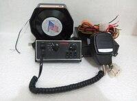 Выше Star 100 Вт автомобиль сирена усилители полиция сигнализации с панелью управления и микрофон + 100 Вт динамика/ВЧ