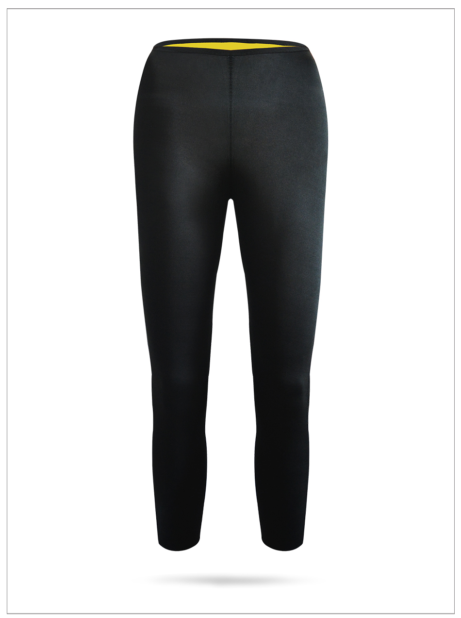 15710a5873 Neoprene Hot Shapers Tight Fitness Sweat Slimming Pants High Quality Women  Slimming Seamless Breathable Long Pants Black Fashion