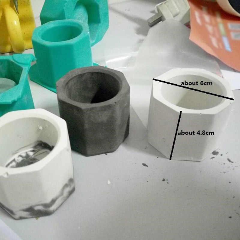 Бетонные формы силиконовые кактус резиновая пепельница керамическая глина для поделок литье бетона пресс-форма в виде чашечки принадлежности для домашнего садоводства