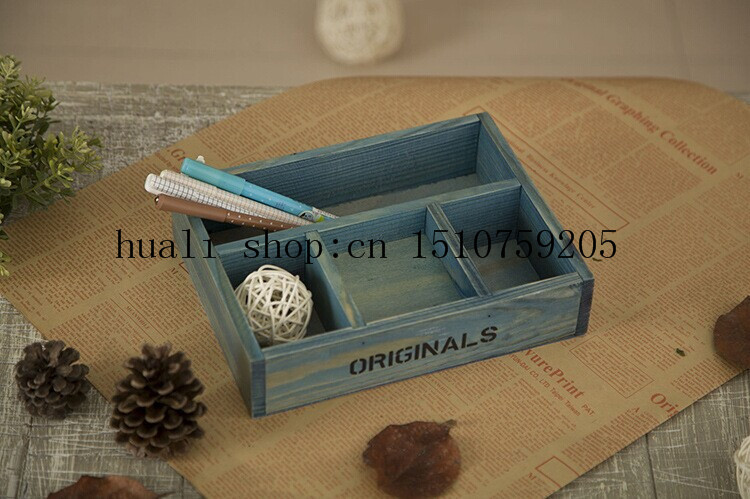 Do The Old Vintage Wooden Handicrafts Cosmetic Storage Box Wooden