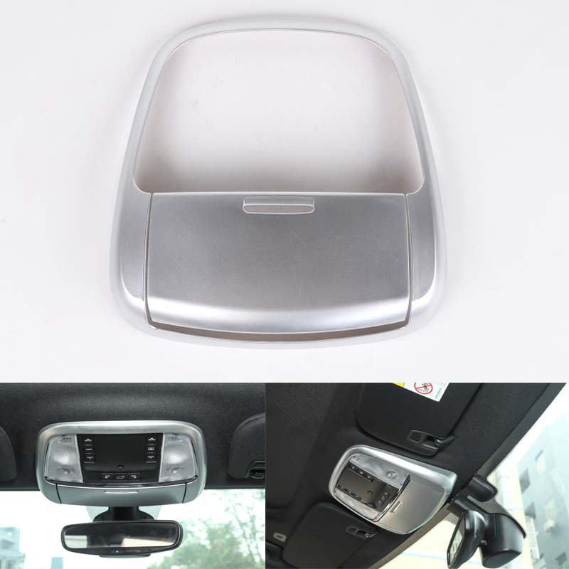 YAQUICKA For Jeep Grand Cherokee 2011 Up Car Styling Front Reading Light Decoration Cover Trim ABS