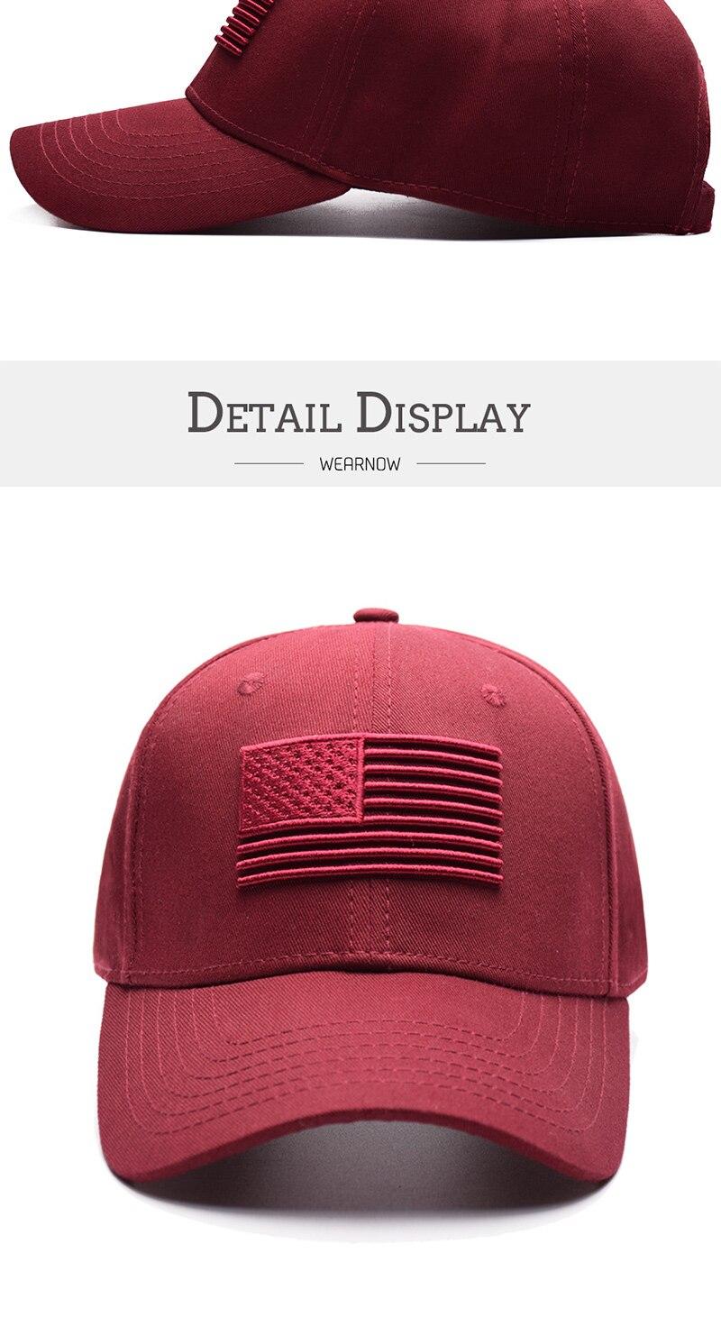 时尚鸭舌帽_2018年新款美国国旗刺绣棒球帽男女时尚休闲鸭舌帽厂家批发---阿里巴巴_06