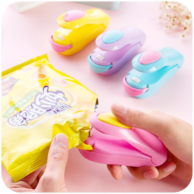Creative Kitchen Appliances Cookware Accessories Fruit Vegetable Tools Food  Mini Heating Impulse Sealer Party Favor And