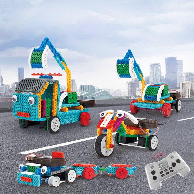 150 pièces tige enfant jouet école tige bricolage électronique bloc de construction éducatif Science jouets Kit d'apprentissage éducation jouets pour enfants