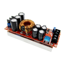 5pcs/lot 1200W 20A DC Converter Boost Step-up Power Supply Module IN 8-60V OUT 12-83V 5pcs lot xr2201 2201 msop8 dc dc converter