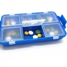 Pill Box Organizer Storage Case 7-Day  Splitters Container Dispenser Small Sound Alarm Clock MT103