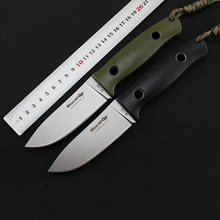 New tactical camping straight knife D2 Blade G10 Handle fixed blade knife hunting survival knives gift EDC hand tools