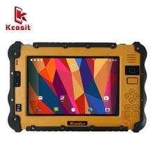 """Китай прочный промышленный водонепроницаемый планшетный телефон PC UHF VHF PTT радио 7 """"1920x1200 Dual Sim Android 5,1 пылезащитный GNSS GPS грузовики"""