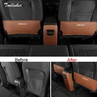 Tonlinker Cover Case Stickers For Ford Ecosport 2018 Car Styling 3 PCS PU Leather The Rear