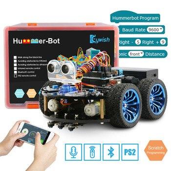 Keywish 4WD Roboter Autos für Arduino Super Starter Kit Smart Auto APP RC Robotik Lernen Kit STEM Spielzeug Kid, unterstützung Scratch Bibliothek