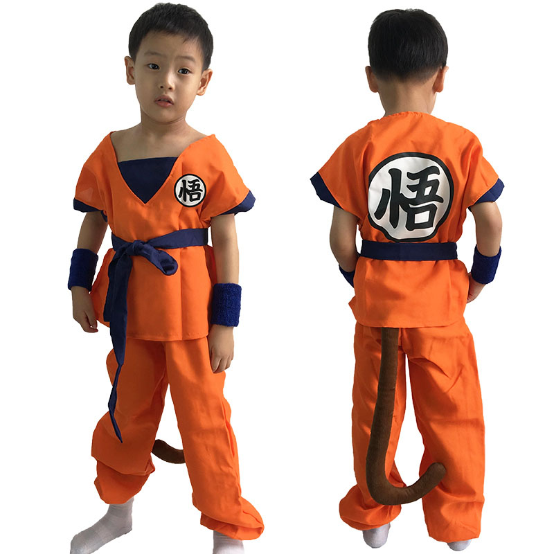 Adult Children boy Anime Dragon Ball costume Monkey halloween Cosplay Son Goku clothes Kids Japanese Costume For Men 6 sizes-in Boys Costumes from Novelty ...  sc 1 st  AliExpress.com & Adult Children boy Anime Dragon Ball costume Monkey halloween ...