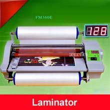 CNC плавная регулировка скорости модуляции fm360e горячей и холодной Ламинаторы горячей монтируется наклейки холодная установлен фото ламинирования машины 1.2 м/мин