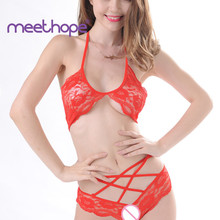 Meethope Exotic Apparel Sexy Lingerie G-string Sexy Costumes Lace Underwear Sex Toys for Women Erotic Lingerie  Cute Lingerie недорого