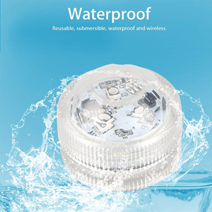 Xsky Submersible LED Lights Waterproof Night Lamp Remote Controller Battery Powered For Weeding Tea Light Vase Party Decor Light