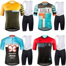 1ae42cb05 Runchita 2018 Pro summer men s cycling clothing short sleeve kit maillot  ciclismo set