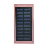 20000 12000mah ダブル USB クイック高速電話充電器屋外ソーラーパワーバンク外部バッテリー powerbank Led ライトパワーバンク