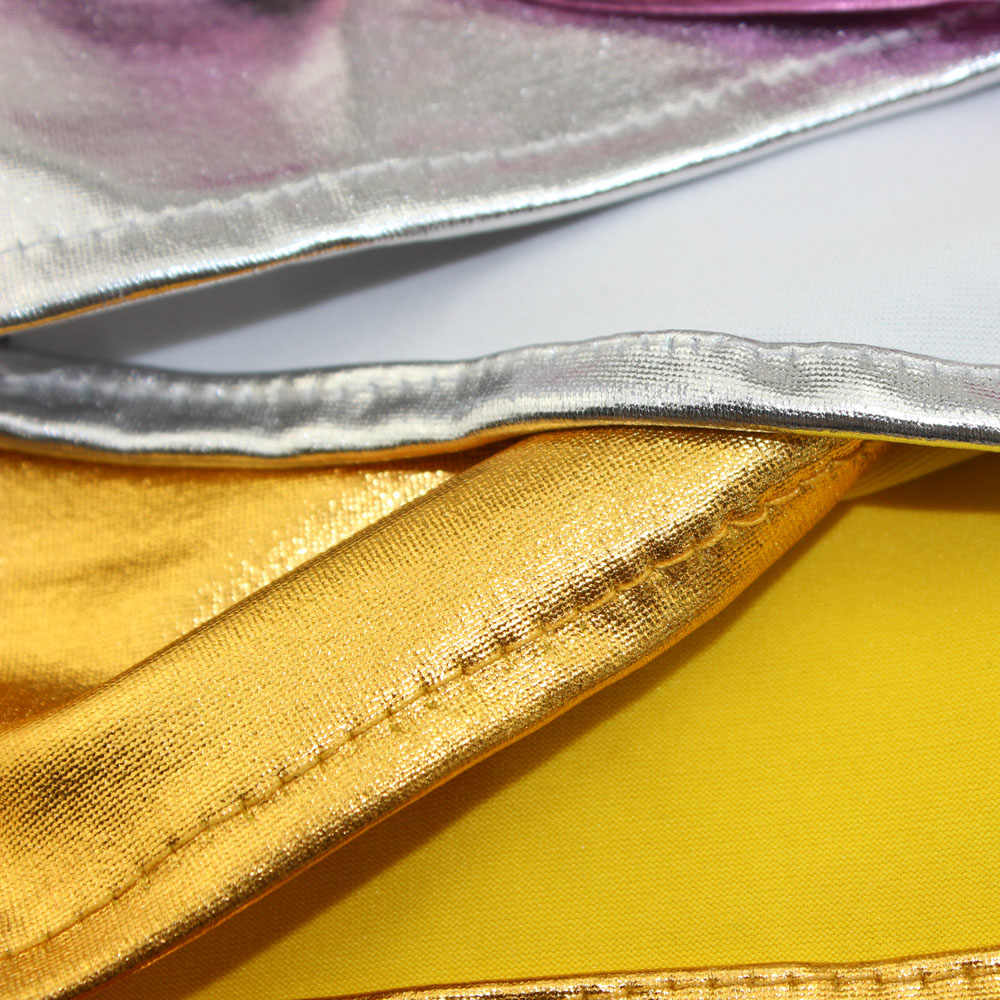 50 шт./партия металлическое золото/серебро/черный 10 цветов украшение для церемонии стул пояса Лента Свадебная вечеринка спандекс крепежная створка стула