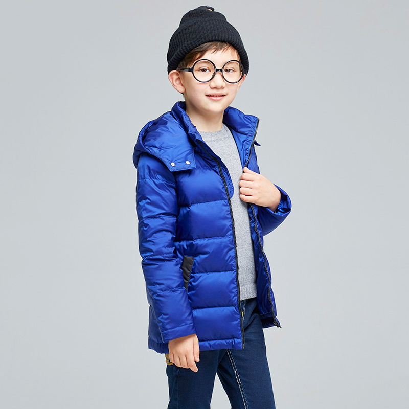 Dimond Boy Hoodie With Zipper Padded Coats Infant Toddler Snowsuit Reima Duck Thick Coat Kids Clothes Baby Down Jacket 60Z010 infant baby boy kids frist walkers solid shoes toddler soft soled anti slip boots