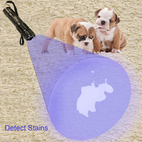 Uniquefire g10 שתן לחיות מחמד גלאי uv 395nm פנס על ידי doggone לחיות מחמד מוצרים-Blacklight מוצא יבש Dog & Cat כתמים על שטיחים