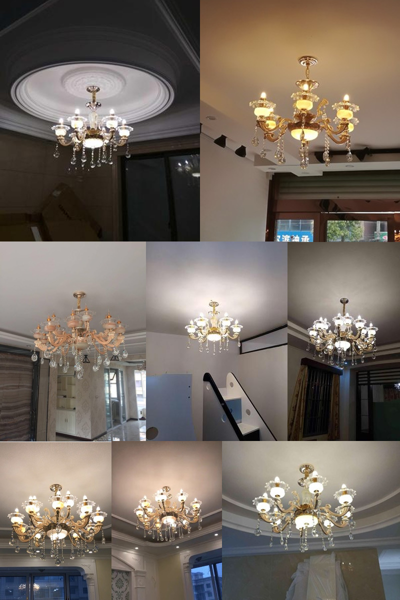 Dining Room Modern Lighting Us 75 68 14 Off Classic Crystal Chandeliers For Living Room Ceiling Chandeliers Modern Lighting Dining Room Decoration Crystal Chandelier Lamp In